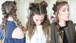 3 boho Hairstyle Ideas ( Perrie Edwards inspired) | Festival Hair Ideas | Braidsandstyles12