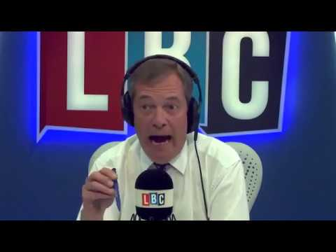 Nigel Farage Discusses the UK and Ireland Border