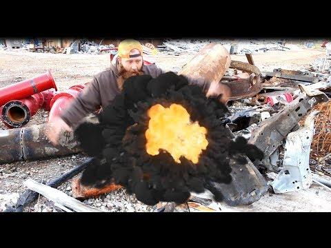 Scrap metal #1 HMS-Heavy Melting Steel