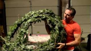 how to make easy diy low cost real christmas garland