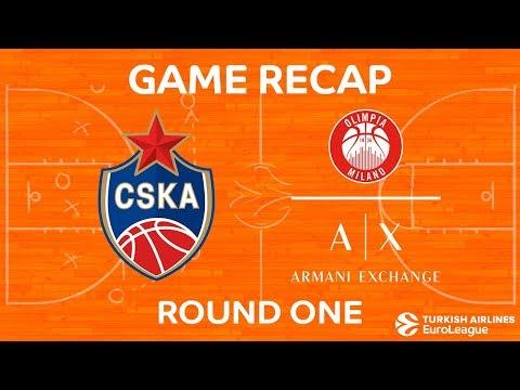 Highlights: CSKA Moscow - AX Armani Exchange Olimpia Milan