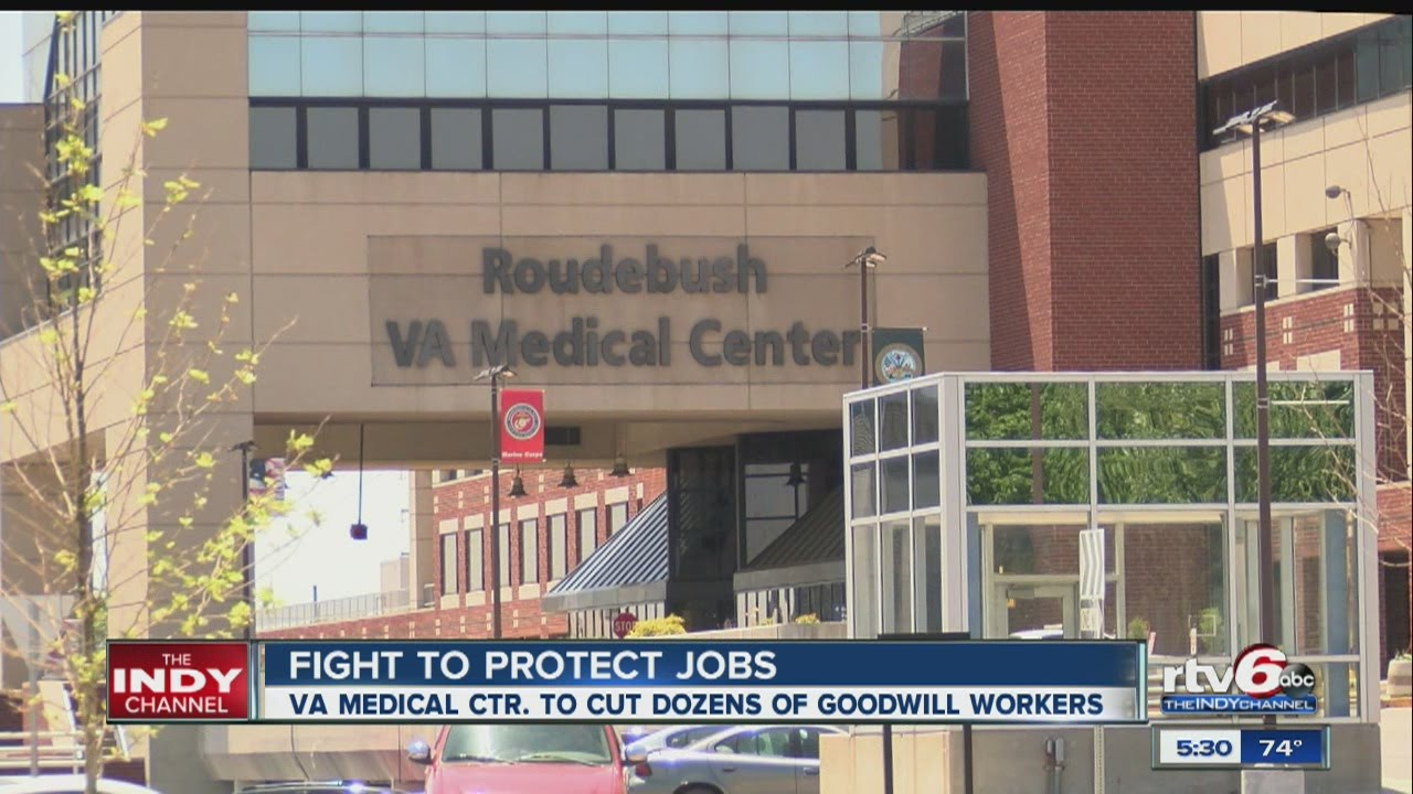 VA hospital cancels contract with Goodwill Services to hire more veterans