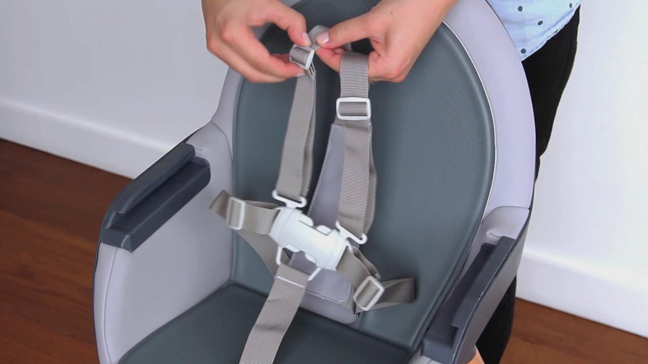 tuo ana skip banana convertible gray baby product high hop chair