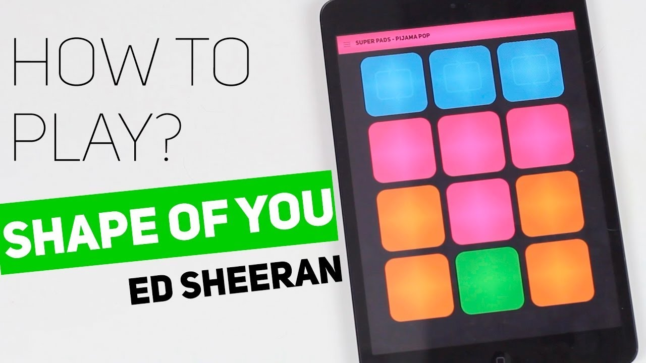 Download MP3 How to play- SHAPE OF YOU(ED SHEERAN)-On