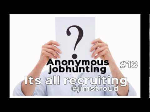 The Trend of Anonymous Job Hunting