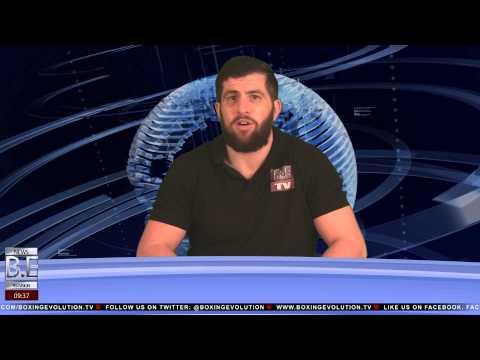 Boxing Evolution TV News Fri 4th Aprill 2014