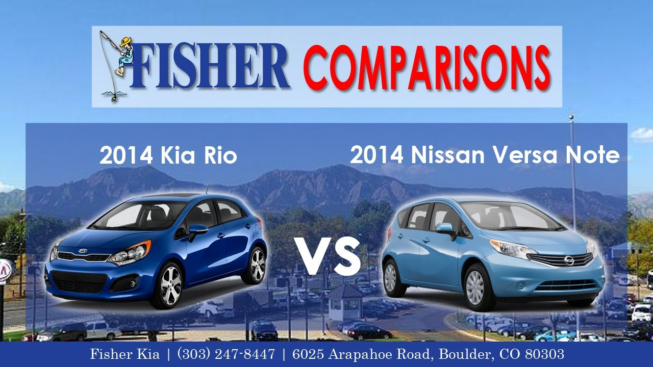 2014 kia rio 5 door vs 2014 nissan versa note vehicle. Black Bedroom Furniture Sets. Home Design Ideas