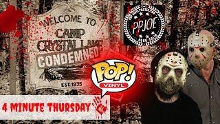 How to IMPROVE your Horror Funko Pops , Blood Splatter Pop Protectors : 4 Minute Thursday Episode 24