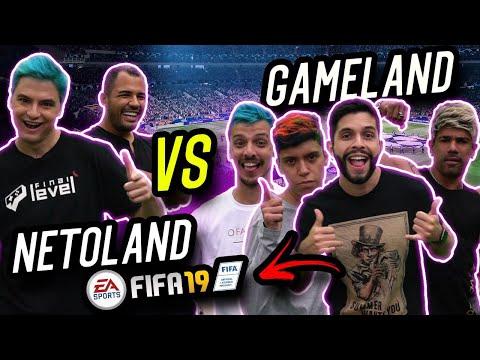 FELIPE NETO E BRUNO CORRÊA - DESAFIO DE FIFA NA GAMELAND thumbnail