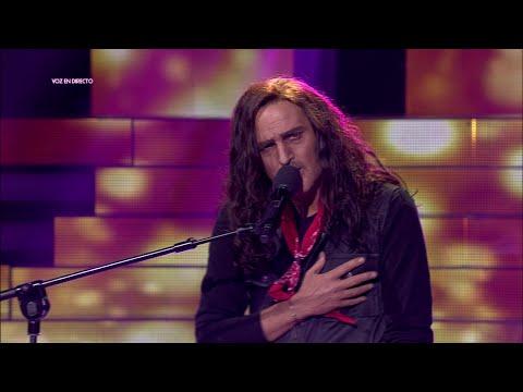 Jordi Rebellón imita a Antonio Flores en 'Tu cara me suena'