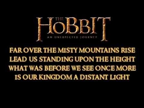 The Hobbit Soundtrack - Song of the Lonely Mountain & Lyrics