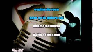 Espina De Rosas - Andy Rivera Ft Dalmata KARAOKE