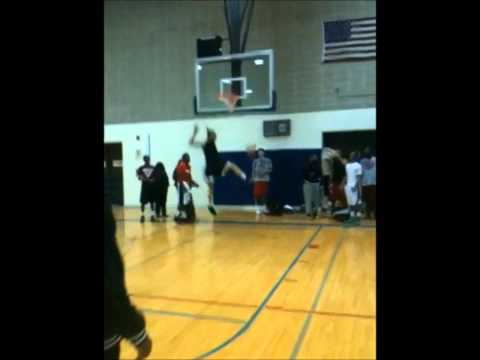 Myles Robinson - Dunks - Christian Life Center Academy