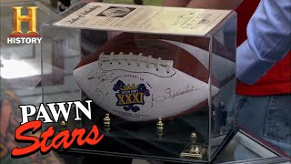 Pawn Stars: Walter Payton Signed Football (Season 9) | History