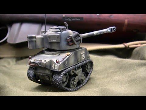 1//35 Meng World War Toons Sherman US Medium Tank M4A1
