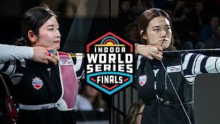Sim Yeji v Kang Chae Young – recurve women's gold | 2019 Indoor World Series Finals