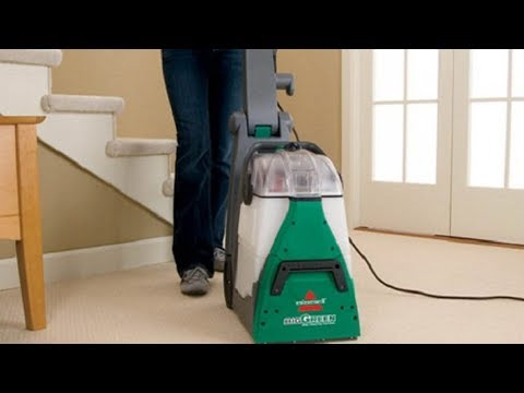 How To Use The BISSELL Big Green Machine From Scratch