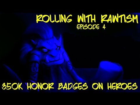 Castle Clash: Rolling 350k Honor Badges On Heroes!!