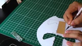 更多来自我博客的内容欢迎点以下链接~ for more paper toy please click like below~ http://diypapertoys.blogspot.com/ 面包仙人部落 ...