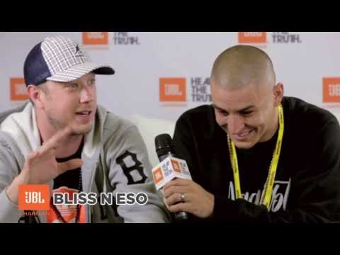 Bliss N Eso Interview - JBL - Hear The Truth (Big Day Out 2014)