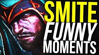 NEW ULLR BUFF OP! - SMITE FUNNY MOMENTS