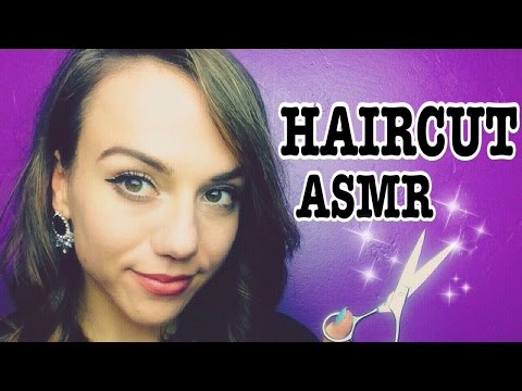 Virtual Haircut, Head Massage, Wash and Style Role Play + Beer *ASMR*