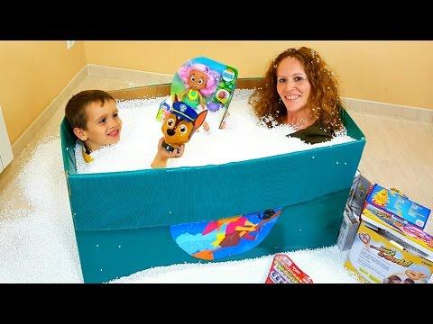 Mejores juguetes y la caja sorpresa gigante para Ares 🎁👀❤️ regalos a JUEGOS y JUGUETES de ARES  🎁👀❤️