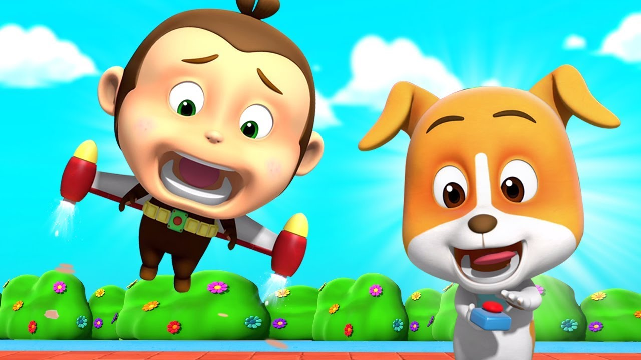 Jet Pack | Cartoon For Kids | Children Videos For Babies By Loco Nuts