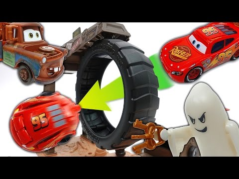 Thumbnail: Disney Cars Turned Into Eggs~! Disney Cars Hatch 'n Heroes Toys
