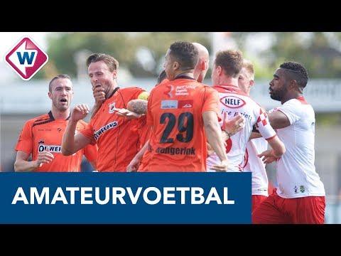 Opstootje bij dug-out in duel Katwijk - Kozakken Boys - OMROEP WEST SPORT