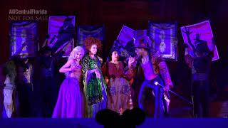 Hocus Pocus Villain Spelltacular 2018 FULL SHOW at Mickey's Not So Scary Halloween Party [4K]