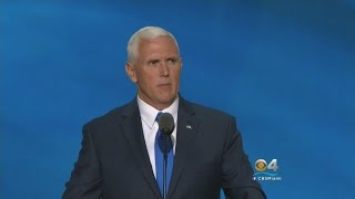 Trump VP Choice Mike Pence Gives Rousing Speech At RNC