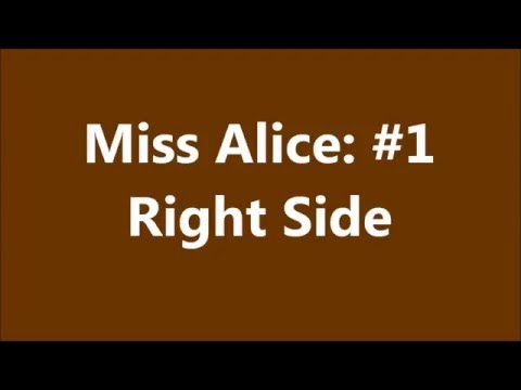 Miss Alice: #1 - Right Side
