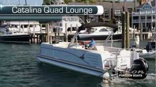2013 Pontoon Boats- Catalina Quad Lounge - Avalon Pontoon Boats - A Series