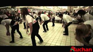 Flash Mob Auchan Katowice 06.07.2011.avi