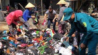 Cháy 11 ki ốt chợ Trí Phải, ước thiệt hại 2,6 tỉ đồng