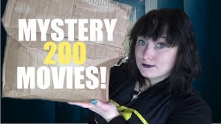 I Bought a MYSTERY BOX of 200 MOVIES?! eBay Mystery Unboxing!