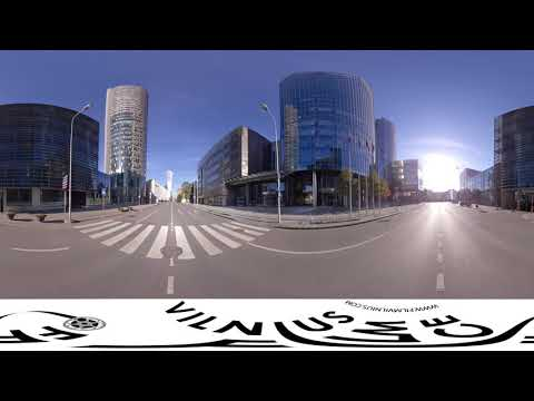 Vilnius Film Office - Lithuania. Shooting locations: Modern Architecture VR 360