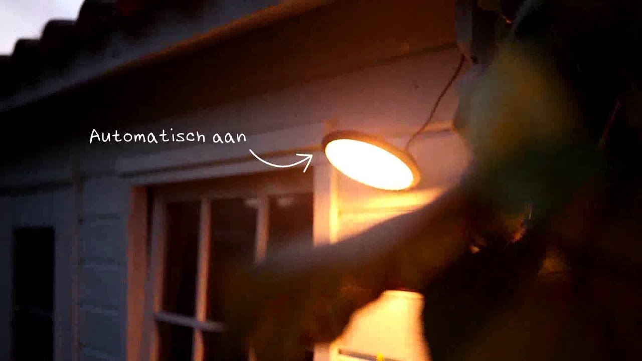 Tuinlampen Op Zonne Energie Philips Solar Tuinlampen Youtube