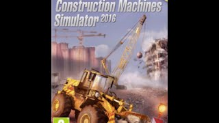 Construction Machines Simulator 2016 - Part. 1 PT-BR - (GamePlay)