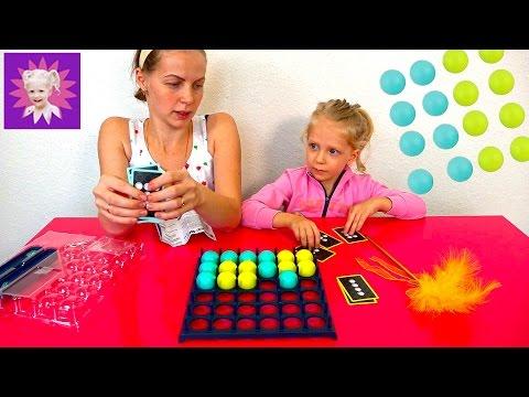 Веселая игра шарики пинг понг Челлендж кидаемся шариками Funny game balls Ping Pong Challenge