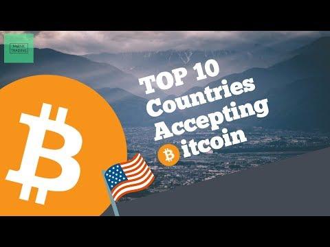 Top 10 Countries Accepting Bitcoin *Denmark...* | MØNK Trading