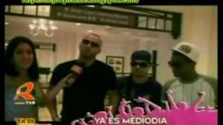 Wisin Junto a Jowell & Randy @ Ya Es Medio Dia