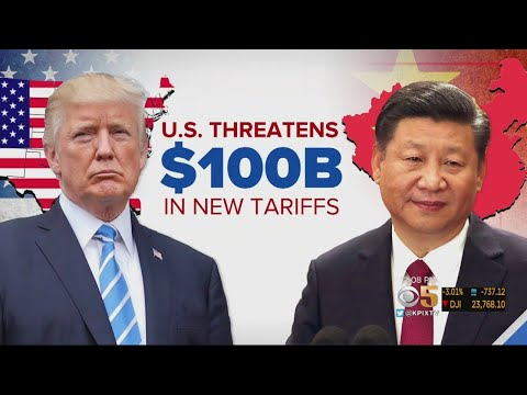 President Dismisses Concerns About Trade War With China After Proposing More Tariffs