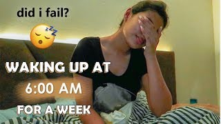 WAKING UP AT 6AM FOR A WEEK ⏰| Aashna Hegde