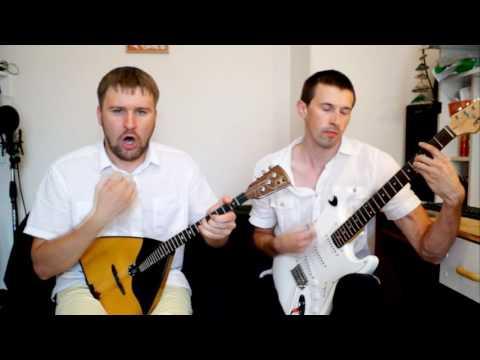видео: rammstein - mutter (cover) на балалайке
