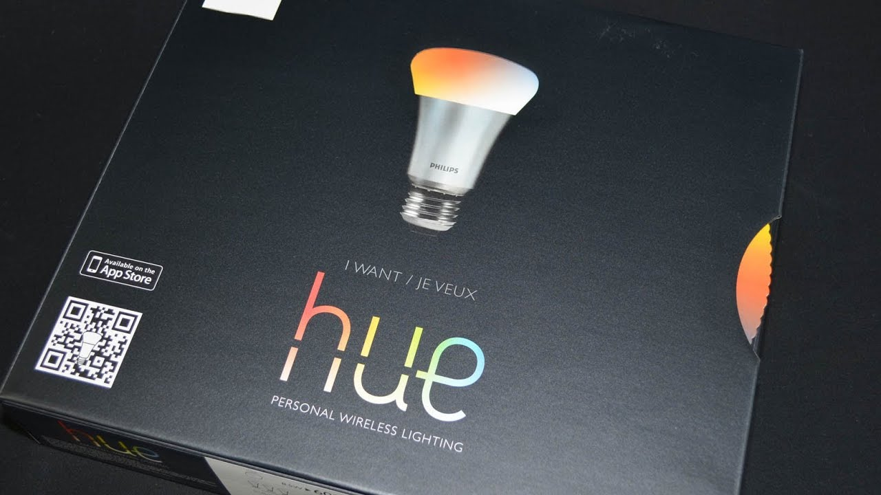 philips hue wireless led lighting unboxing review youtube