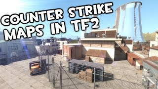 TF2 - But It's Counter Strike Maps!