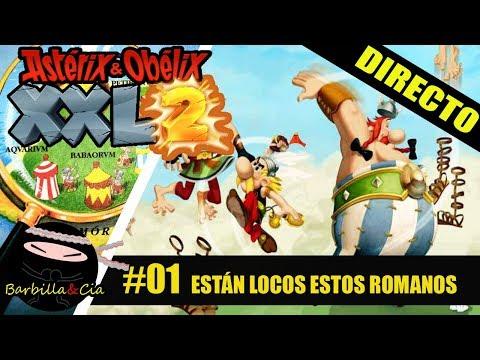 DIRECTO: Astérix & Obélix XXL 2 | 01 ¡Por Tutatis! Están locos estos romanos