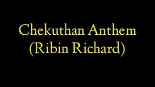 Ribin Richard Chekuthan lyrics ft nihal sadiq prod (ajmal anonymous)■■